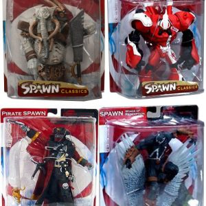Oasis Collectibles Inc. - Spawn Classics - Poacher, Pirate Spawn, Manga Spawn, Spawn Wings of Redemption