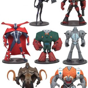 Oasis Collectibles Inc. - Adventures of Spawn - Spawn X, Commando Spawn X, Raven Spawn, Tremor, Agent 8, The Creech, Omega Squadron