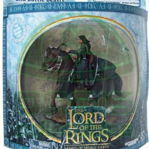 Oasis Collectibles Inc. - Lord Of The Rings - Aragon In Candorian Armor On Horse