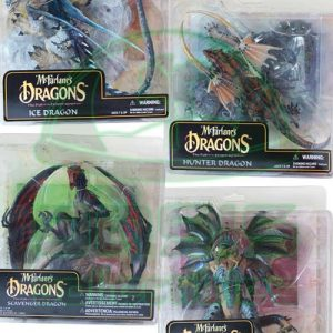 Oasis Collectibles Inc. - McFarlane Dragon Sets - Ice, Hunter, Scavenger, Warrior