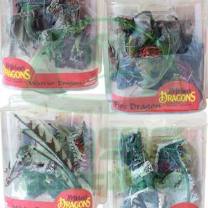 Oasis Collectibles Inc. - McFarlane Dragon Sets - Warrior, Fire, Water, Ice