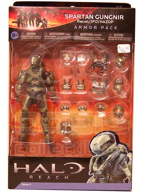 Oasis Collectibles Inc. - Halo Reach - Armour Pack - Spartan Grungnir Sage