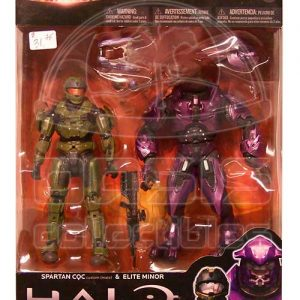 Oasis Collectibles Inc. - Halo Reach - Spartan CQC + Elite Minor -
