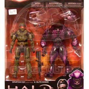 Oasis Collectibles Inc. - Halo Reach - Spartan CQC + Elite Minor -