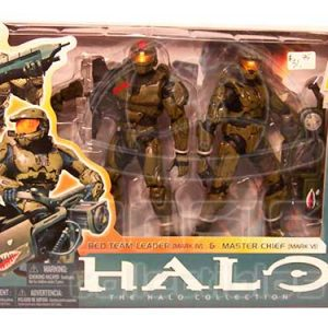 Oasis Collectibles Inc. - Halo 3 - Red Team Leader + Master Chief