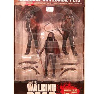 Oasis Collectibles Inc. - Walking Dead T.V. - Michonne + Two Zombies