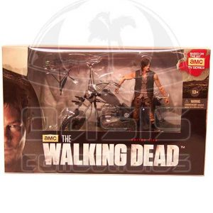 Oasis Collectibles Inc. - Walking Dead T.V. - Daryl Dixon with Chopper