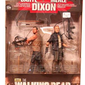Oasis Collectibles Inc. - Walking Dead T.V. - Daryl + Merle Dixon