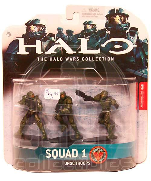 Oasis Collectibles Inc. - Halo Wars - Green - Squad 1