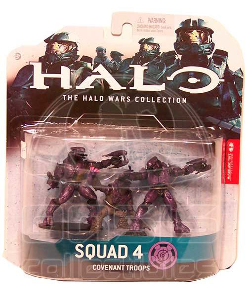 Oasis Collectibles Inc. - Halo Wars - Squad 4