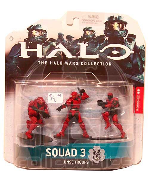Oasis Collectibles Inc. - Halo Wars - Red - Squad 3