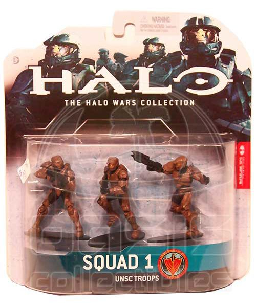 Oasis Collectibles Inc. - Halo Wars - Brown - Squad 1