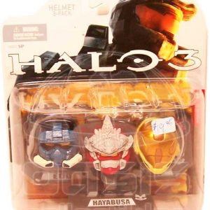 Oasis Collectibles Inc. - Halo 3 - Hayabusa - Helmet 3-pak