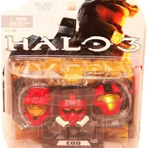 Oasis Collectibles Inc. - Halo 3 - EOD - Helmet 3-pak
