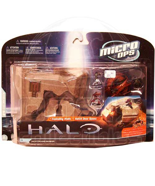 Oasis Collectibles Inc. - Halo Micro OPS - High Ground Bunker