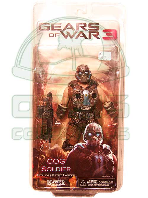 Oasis Collectibles Inc. - Gears Of War - Cog Soldier