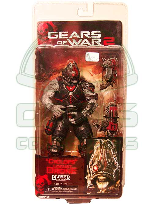 Oasis Collectibles Inc. - Gears Of War - Cyclops Locus Drone