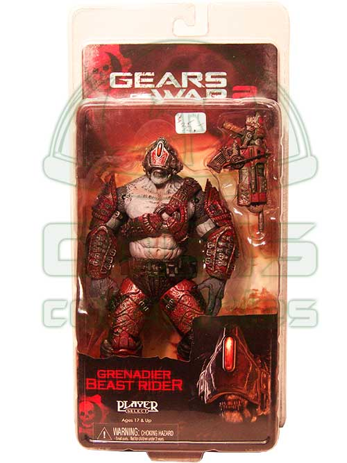 Oasis Collectibles Inc. - Gears Of War - Grenadier Beast Rider