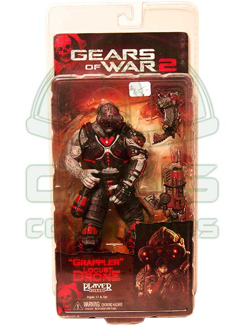 Oasis Collectibles Inc. - Gears Of War - Grappler Locus Drone