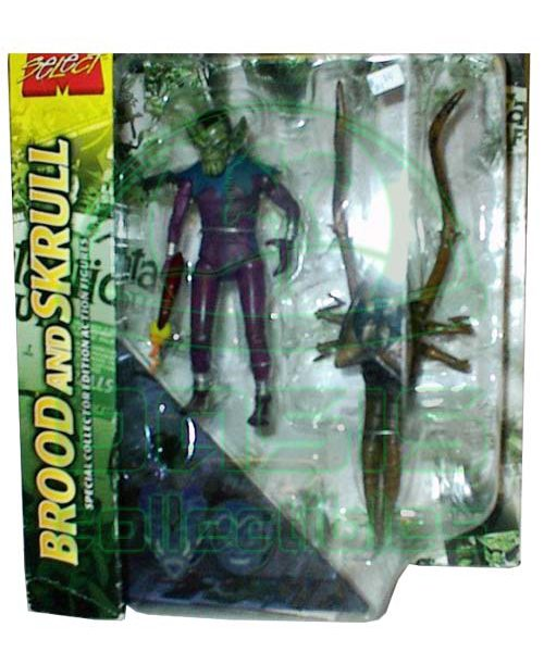 Oasis Collectibles Inc. - Marvel Select - Brood + Skull