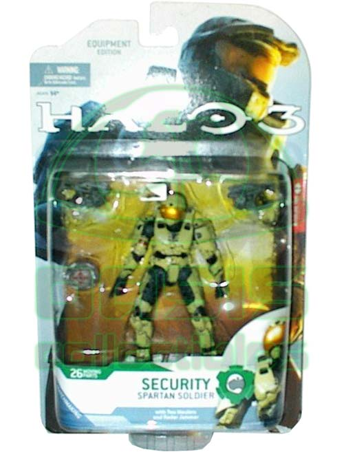 Security Spartan Soldier - Action Figure 6 inches