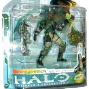 Oasis Collectibles Inc. - Halo 3 - Sgt. Svery Johnson