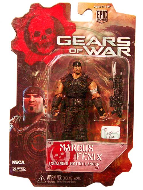 Oasis Collectibles Inc. - Gears Of War - Marcus Fenix
