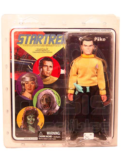 Oasis Collectibles Inc. - Star Trek - Capt. Pike