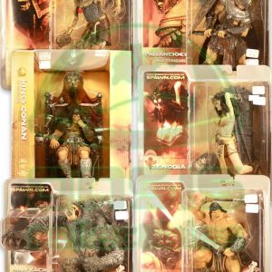 Oasis Collectibles Inc. - Conan - King Conan Of Aquilonia Throne Boxed, Saltotun, Pallantines, Man Eating Hunter Of The Pits, Conan The Warrior, Zenobia