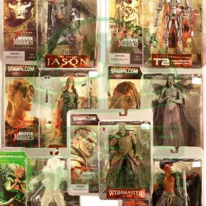 Oasis Collectibles Inc. - Movie Maniacs - Legend Lord Of Darkness, Collector's Club Exclusive Stealth Predator, Jason, T2, T2 Sarah Connor, Tooth Fairy, Wishmaster
