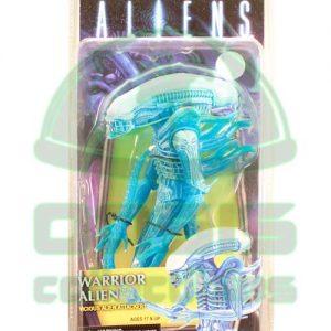 Oasis Collectibles Inc. - Alien Defiance - Warrior Alien-Blue