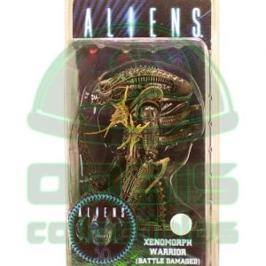 Oasis Collectibles Inc. - 30 Anniversary Aliens - Warrior Xenomorph Battle Damaged Brown-Grey