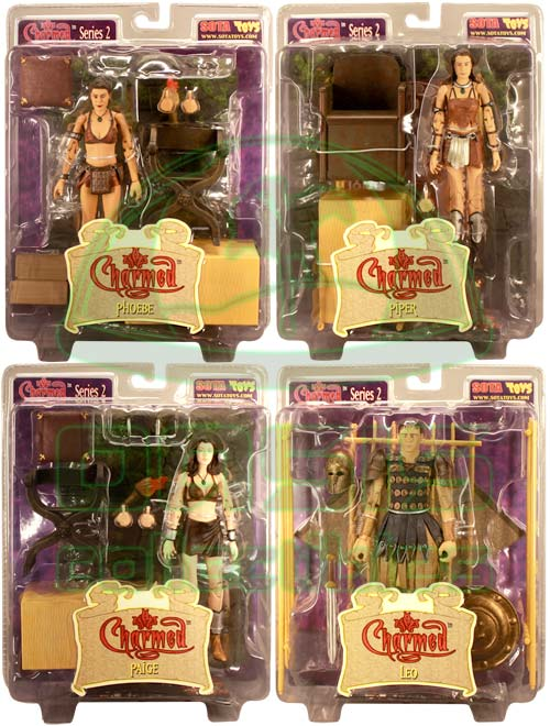 Oasis Collectibles Inc. - Charmed - Paige, Leo, Piper, Phoebe