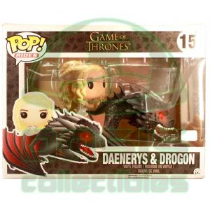 Oasis Collectibles Inc. - Games of Thrones - Daenerys + Drogon #15
