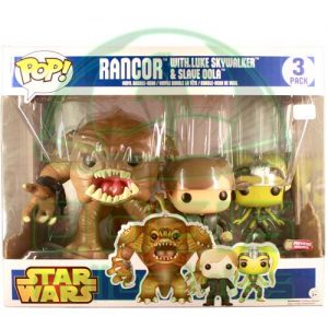 Oasis Collectibles Inc. - Pop 3-Pack - S.W. Rancor W. Luke + Slave O