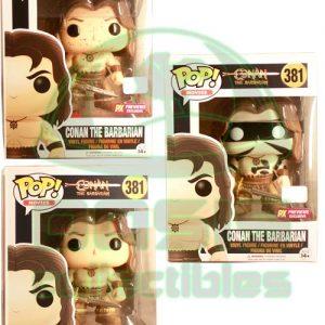 Oasis Collectibles Inc. - Pop Movies - Conan - Conan The Barbarian, Masked Conan The Barbarian, Bloody Conan
