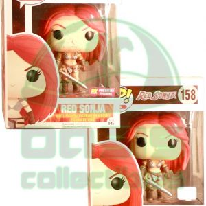 Oasis Collectibles Inc. - Pop Heros - Red Sonja - Red Sonja, Previews Ex Bloody Red Sonja