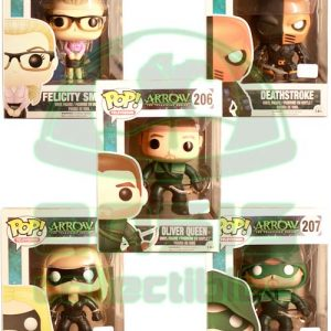 Oasis Collectibles Inc. - Pop T.V. - Arrow - The Arrow, Black Canary, Felicity Smoak, Deathstroke, Oliver Queen